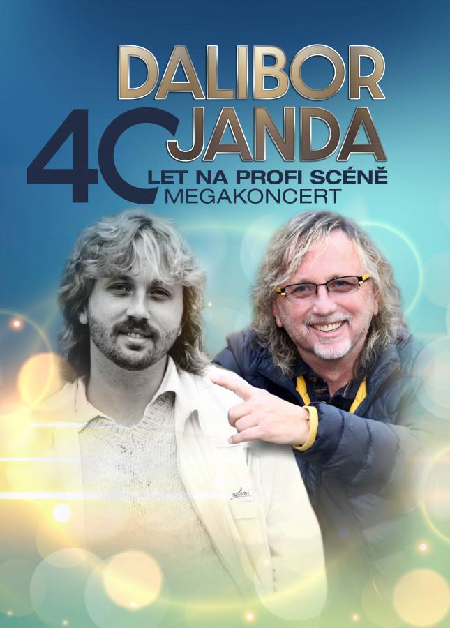 Dalibor Janda – 40 let na profi scéně