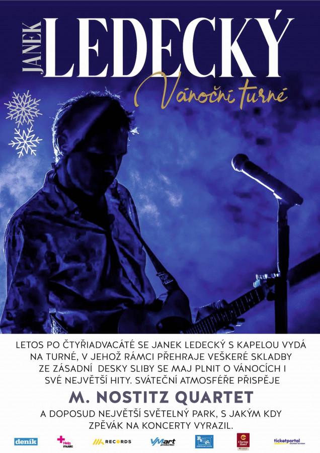 Janek Ledecký - Vánoční turné 2021